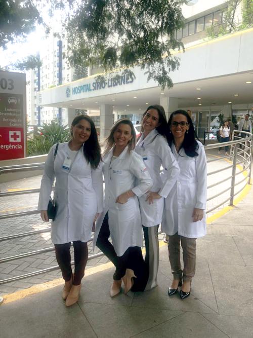 Equipe do Incardio participa de treinamento para transplante cardíaco, em São Paulo – Hospital Sírio-Libanês